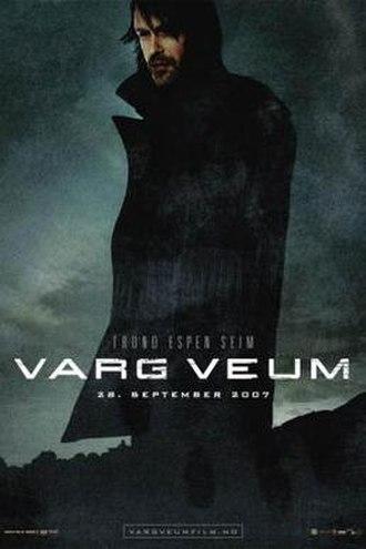 Bitter Flowers - Teaser Poster for the Varg Veum film series