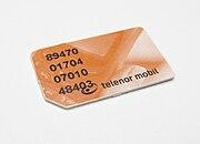 Telenor Mobil SIM