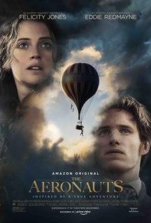 <i>The Aeronauts</i> (film) 2019 film directed by Tom Harper