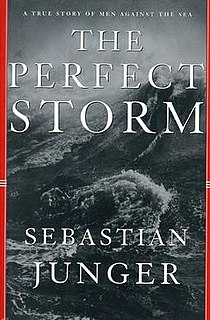 <i>The Perfect Storm</i> (book) nonfiction book written by Sebastian Junger