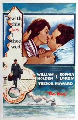 The Key (1958 film) - Image: The Key Film Poster