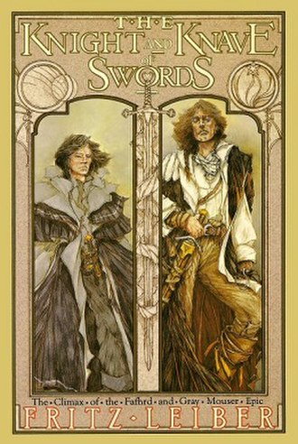The Knight and Knave of Swords - dust cover art from first edition