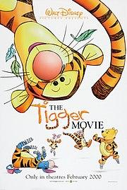 Tigger as seen in The Tigger Movie.