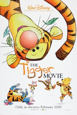 The Tigger Movie - Theatrical release poster