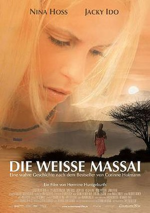 The White Masai - The German theatrical poster.