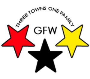 GFW Schools - Image: Three towns logo