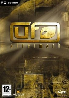 <i>UFO: Aftermath</i> video game