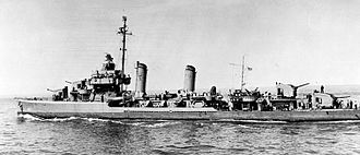 USS Thompson (DD-627) - USS Thompson, May, 1944