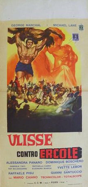 Ulysses Against the Son of Hercules - Image: Ulisse contro ercole italian movie poster md