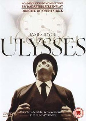Ulysses (1967 film) - DVD cover