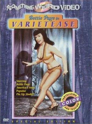 Varietease - Varietease DVD cover