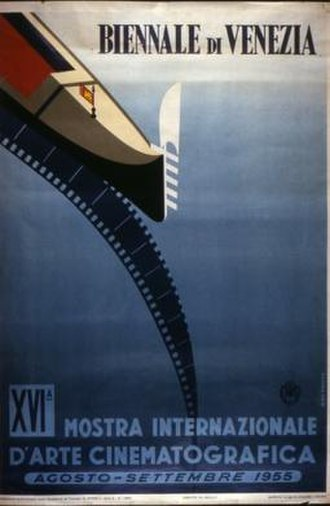 16th Venice International Film Festival - Festival poster