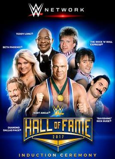 WWE Hall of Fame (2017) WWE Hall of Fame induction ceremony