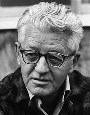 Wallace Stegner - Wallace Stegner, c. 1969