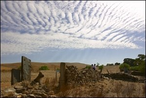 Averaged Lagrangian - High-altitude wave cloud formed over the Hampton area at Burra, South Australia on 16 January 2007.