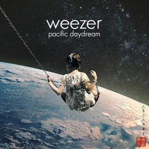 Pacific Daydream - Image: Weezer pacific daydream album
