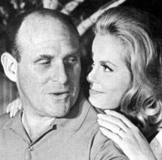 William Asher - Asher with second wife, Elizabeth Montgomery, in 1964