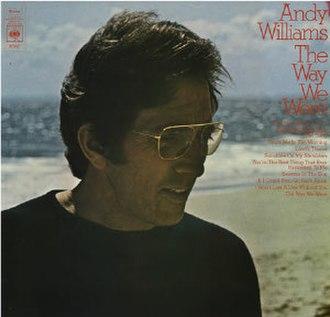 The Way We Were (Andy Williams album) - Image: Williams Way CBS