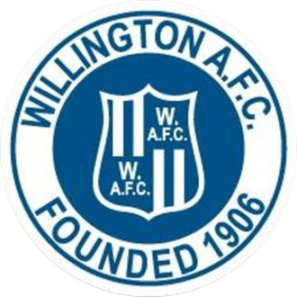 Willington A.F.C. - Image: Willington A.F.C. logo