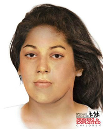 Woodlawn Jane Doe - Reconstructions of the victim, created in 2016