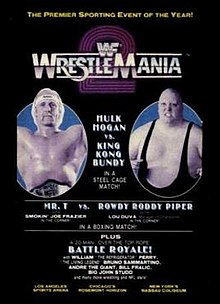 Image result for WWF Wrestlemania 2