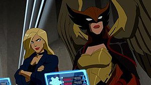 Hawkgirl - Hawkgirl as she appeared in Young Justice.