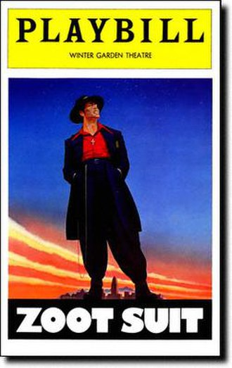 Zoot Suit (play) - 1979 Broadway Playbill
