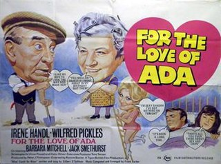 <i>For the Love of Ada</i> (film) 1972 film by Ronnie Baxter