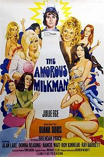 <i>The Amorous Milkman</i> 1975 film by Derren Nesbitt