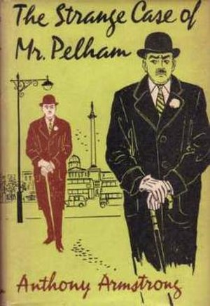 The Strange Case of Mr Pelham - First edition cover