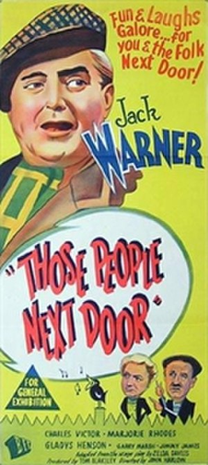 Those People Next Door - Australian daybill poster