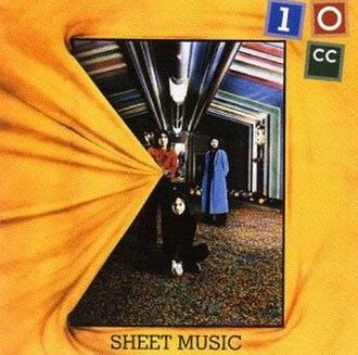 Sheet Music (album) - Image: 10cc Sheet Music