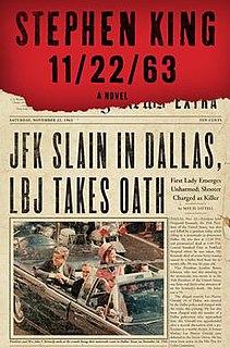 <i>11/22/63</i> novel by Stephen King