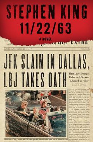 11/22/63 - First edition cover
