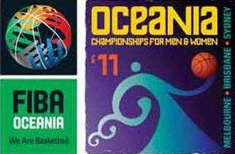 2011 FIBA Oceania Championship - Image: 2011 FIBA Oceania Championship logo