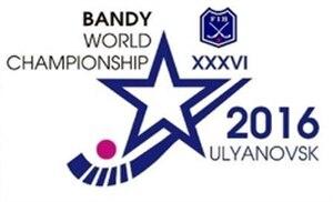 2016 Bandy World Championship - Image: 2016 Bandy World Championship logo