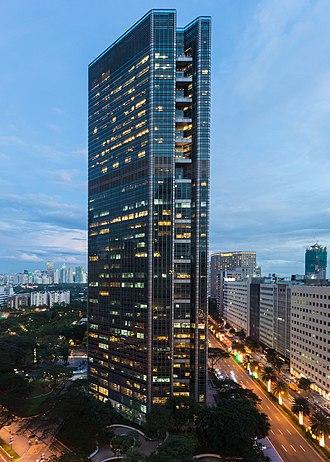 Ayala Tower One - Image: 2017 12 01 Ayala Tower One