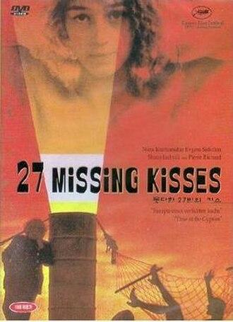 27 Missing Kisses - 27 Missing Kisses DVD cover