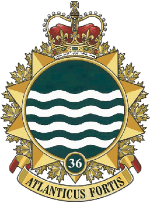 36 Canadian Brigade Group - Image: 36 Canadian Brigade Group badge