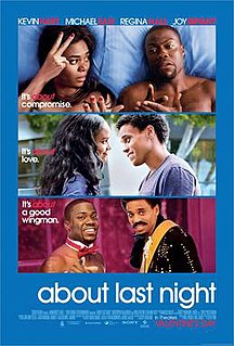 <i>About Last Night</i> (2014 film) 2014 film by Steve Pink