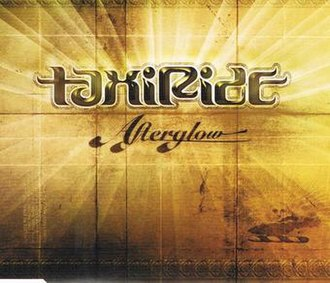 Afterglow (Taxiride song) - Image: Afterglow by Taxiride