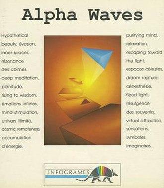 Alpha Waves - European cover