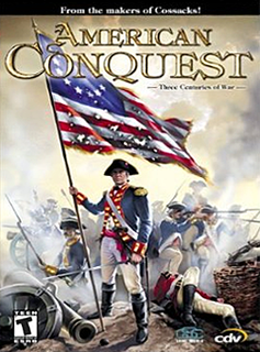 <i>American Conquest</i> video game