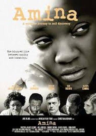 Amina (film) - Theatrical poster