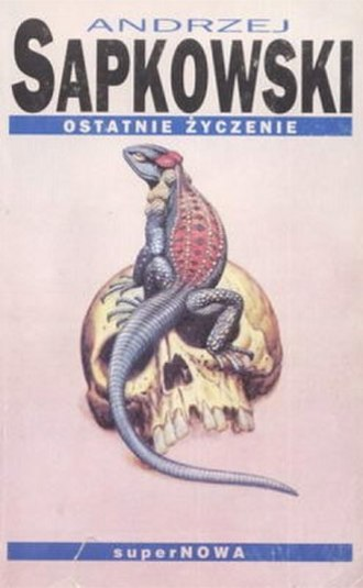 The Witcher - Cover of the first book