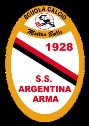 S.S.D. Argentina Arma - Image: Argentinalogo