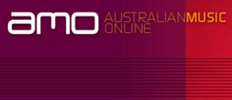 Australian Music Online - The current Australian Music Online logo.