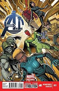 <i>Avengers A.I.</i> Marvel comic book series