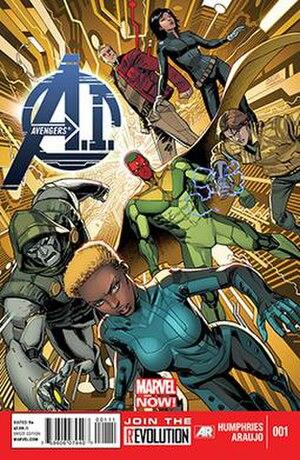 Avengers A.I. - Image: Avengers A.I. cover