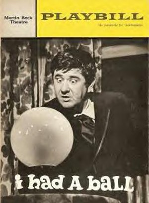 I Had a Ball - Original Playbill